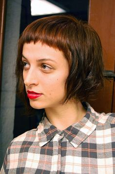 dancing fringe by wip-hairport, via Flickr. Wishing I had not seen this, as I now absolutely want to cut my hair like this.