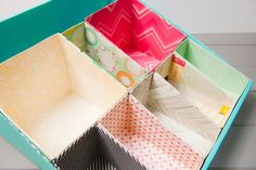 It's always good to go that extra mile. Why just organize when you can make it pretty too?