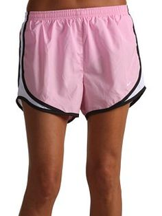 Nike Women's Tempo Track Short, Medium, Perfect Pink/ White/ Black/ White.    Buy New:$28.00  Deal by: AthleticClothingShop.com