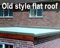 Old Style Tar Felt Chippings the outdated Roll & Pour Method Flat Roof Repair, Roofing Felt, Roof Installation, Roof Covering, Restore, Repurposed, Restoration, Rolls, Old Things