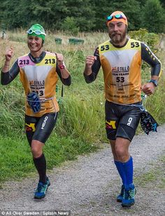 Speaking ahead of the event, Miss Middleton said: 'Much of the running is trail running on uneven ground, hopping over rocks on the shore line, dipping in and out of bays'