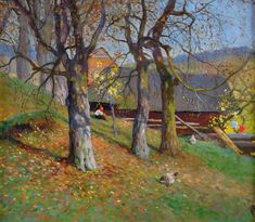 Art from Poland (hiatus): Photo Autumn Day, Poland, Earth, Landscape, Artist, Painting, Master Art, Create, Scenery