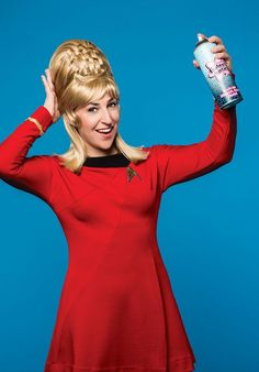Mayim Bialik Like You've Never Seen Her Before Big Bang Theory Actress, The Big Bang Theory, Amy Farrah Fowler, Star Trek Crew, Star Trek Tos, Star Trek Characters, Iconic Characters, Tbbt, Star Trek Merchandise