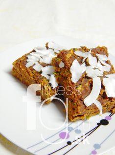 Cukinovo-karobový koláč