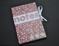Stitch & Stamp Designs: Jr. Legal Pad Covers - Easy Gift Project Idea
