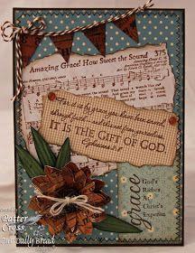 Triple the Scraps: {HSCRC12} Hymn #1, Amazing Grace