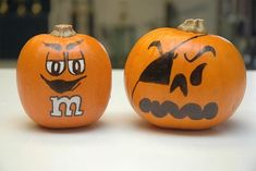 40 Cute and Easy Pumpkin Painting Ideas - Hobby Lesson