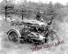 "Una curiosa moto-ambulancia ""Indian"": Más en www.elgrancapitan.org/foro"