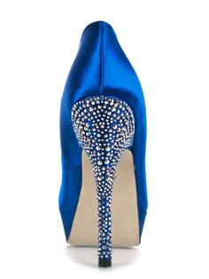 Something Blue--Steve Madden Partyy-R and a HELL YES.
