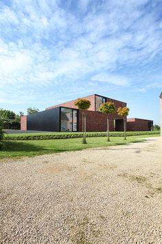 Minimalista proyecto residencial de Egido Meertens en Bélgica