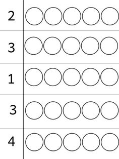 1 5 montessori math bead worksheets atelier and free printable Kindergarten Math Worksheets, Kindergarten Lessons, Math Literacy, Preschool Learning Activities, Preschool Activities, Numbers Preschool, Learning Numbers, Math For Kids, Pose