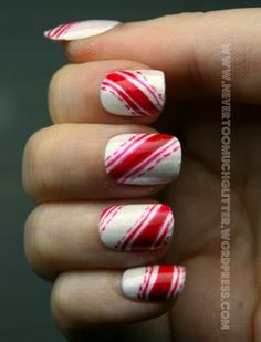 A Few Last-Minute Holiday Nail Art Ideas!