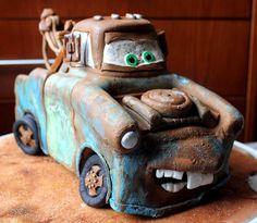 El Laboratorio de las Tartas: Tarta Mate - Tow Mater Cake