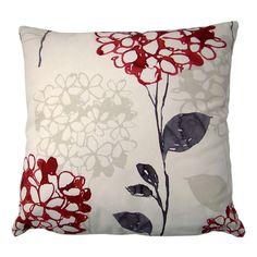 "John Lewis Apollo Fabric cushion cover Pink 12""x20"" Modern abstract"
