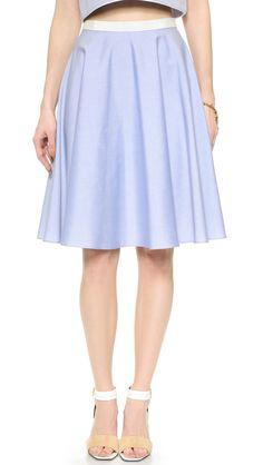 Lanah Oxford Skirt