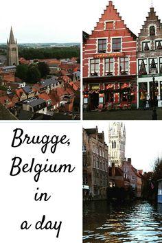 Exploring this #romantic, #ancient city in one day. #travelitinerary #travelblog #brugge #belgium