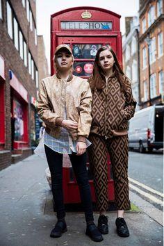 NO.1|LONDONコレクションでキャッチ! ローカルガールたちのおしゃれ私服|エル・ガール・オンライン
