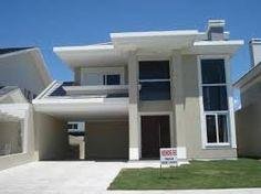 Resultado de imagem para fachadas de casas modernas 2 andares