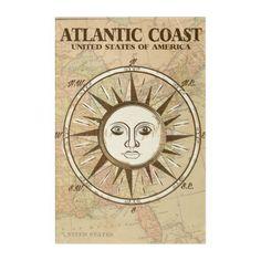 America's Atlantic coastline