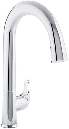 """View the Kohler K-72218 Sensate Touchless Kitchen Faucet with 15-1/2"""" Pull-Down Spout, DockNetik Magnetic Docking System and a 3-Function Sprayhead Featuring Sweep Spray at FaucetDirect.com."""