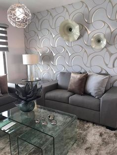 A sofa can be the centerpiece you are looking for your living room! Formal Living Rooms, Small Living Rooms, Home And Living, Living Room Designs, Living Room Decor, Bedroom Decor, Home Decor Inspiration, Girl Room, Decorating Your Home