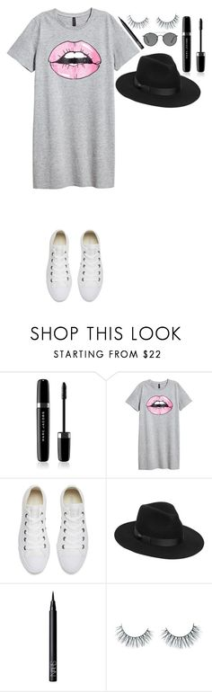 """Untitled #368"" by dutchfashionlover ❤ liked on Polyvore featuring Marc Jacobs, Converse, Lack of Color, NARS Cosmetics, Unicorn Lashes, Ray-Ban, casual and basic"