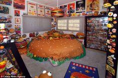 America's burger bedroom
