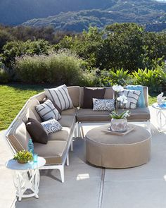 Lyonsgate Outdoor Furniture - Horchow