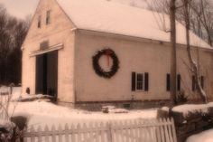 titled: A Moment To Remember.  A barn decked out for Christmas. This just sold on Fine Art America and it wasn't in any groups for wider dissemination. I'm always surprised by sales and each one is a special event.
