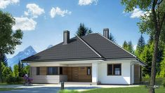 Одноэтажный жилой дом с двумя санузлами Outdoor Decor, Home Decor, Homemade Home Decor, Decoration Home, Interior Decorating