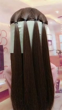 lustige kurze Videos Plattform - hairstyle for medium length hair women easy braids - Easy Hairstyles For Long Hair, Girl Hairstyles, Unique Hairstyles, Wedding Hairstyles, Hairstyles With Braids, Hairstyles For Medium Length Hair, Super Cute Hairstyles, Quinceanera Hairstyles, Step By Step Hairstyles