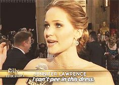 She's refreshingly honest and real. | Community Post: 20 Signs That Jennifer Lawrence Is Your Spirit Animal