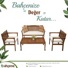Outdoor Chairs, Outdoor Furniture, Outdoor Decor, Istanbul, Cafe Bar, Home Decor, Balcony, Homemade Home Decor, Coffee Cozy
