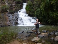 #Datanla #Waterfall in #DaLat #Vietnam