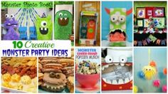 Monster Party - 10 Creative Ideas - Moms & Munchkins