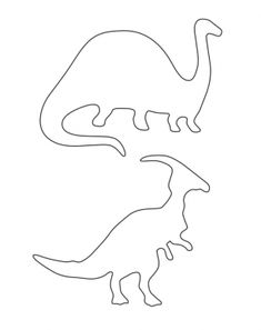 Herbivore Dinosaur Stencils Printable Crafts can be printed and is a great free printable item! If you like Printable Dinosaur Stencils then check out our Printable Party Invitations ! Dinosaur Template, Dinosaur Stencil, Dinosaur Outline, Dinosaur Activities, Dinosaur Crafts, Dinosaur Party, Dinosaur Birthday, Dinosaur Cut Outs, Printable Crafts