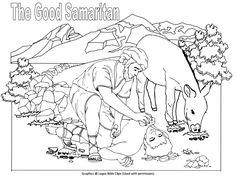 the good samaritan story role play masks - the good samaritan ... - Good Samaritan Coloring Page