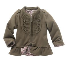 Rock.in | Cocoon | Baby Girl Long-Sleeved Cotton-Rich Cardigan