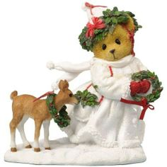 Cherished Teddies There's 'Snow' Christmas Like a White Christmas