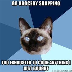 This happens every single time. I've called for takeout immediately after grocery shopping!