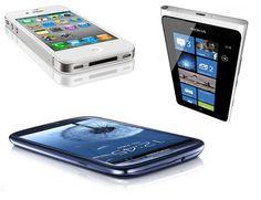 3 smartphone, 3 sistemas operativos, 3 rivales este 2012