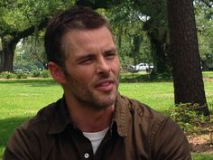 """James Marsden talks about his 11 minute sex scene with Michelle Monaghan on the set of Nicholas Spark's upcoming movie, """"The Best of Me."""" Check out more pictures and interviews on MidlifeAtTheOasis.com. #TheBestOfMe"""