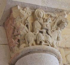 8. 4 Saint Benoît-sur-Loire, chapiteaude la fuite en Egypte