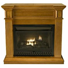 CJs Hearth and Home - Medium Size Vent-Free Fireplace System With Medium Maple Mantel, $1,236.00 (http://www.cjshearthandhome.com/medium-size-vent-free-fireplace-system-with-medium-maple-mantel/)