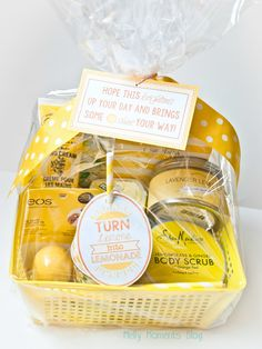 "Melly Moments: A Cheer Up ""Sunshine"" Basket"