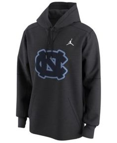 Nike Men's North Carolina Tar Heels Circuit Hoodie - Silver XXL