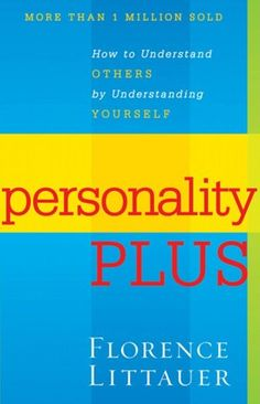 Ever wonder why no one thinks/acts like you do? Yeah, this book will help you understand the 4 different personality types.