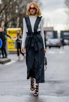 Street style seen at Milan Fashion Week, Fall 2016.