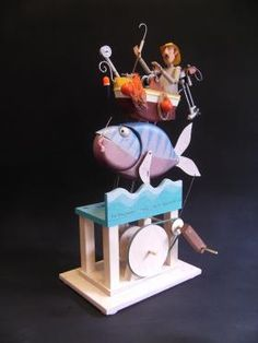 The Fishermans Tale | Keith Newstead Automata