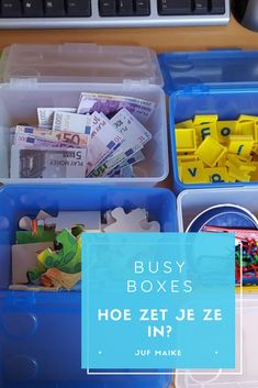 Busy Boxes: wat zijn het en hoe in te zetten? • Juf Maike